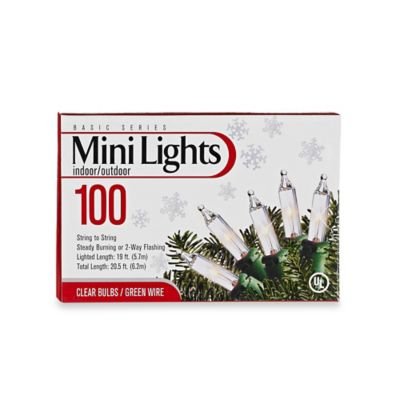 100-Count Mini Lights in Clear