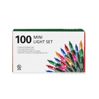100-Count Mini Lights in Multi