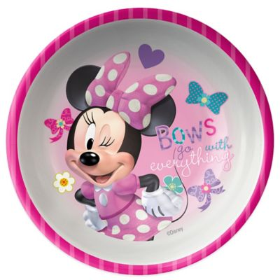 Zak! Designs® Disney® Minnie Mouse Kid's Bowl