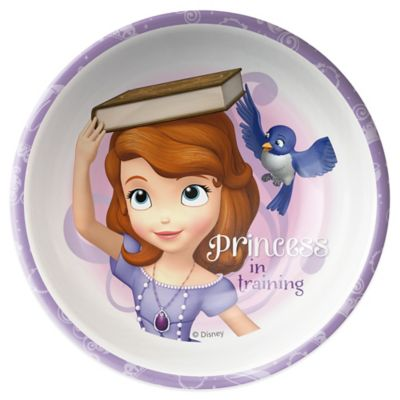 Zak! Designs® Disney® Sofia the First Kid's Bowl