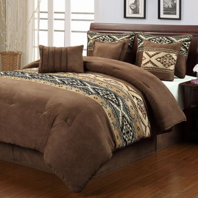 Santa Fe 7-Piece Full Comforter Set