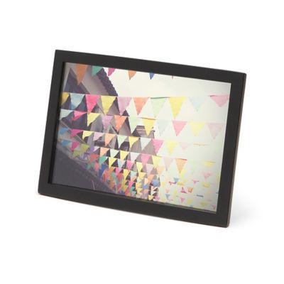 Umbra® Senza 4-Inch x 6-Inch Frame in Black