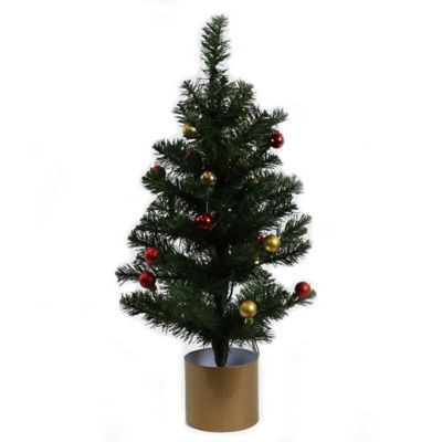 Battery Operated White Lights Express Christmas Tree