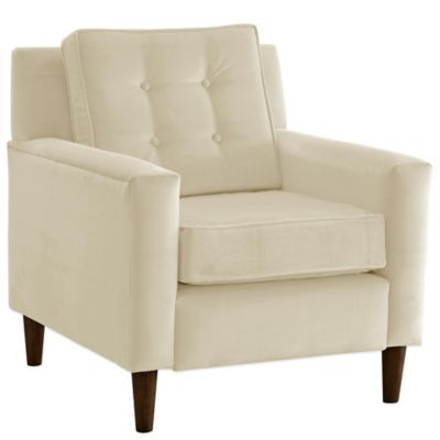 Skyline Furniture Parkview Arm Chair in Maria Prussian