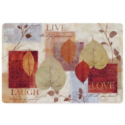 Leaf Study Laminate Placemat