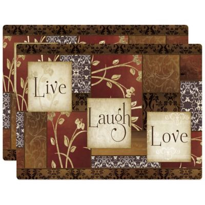 Spice of Life Hardboard Placemat (Set of 2)