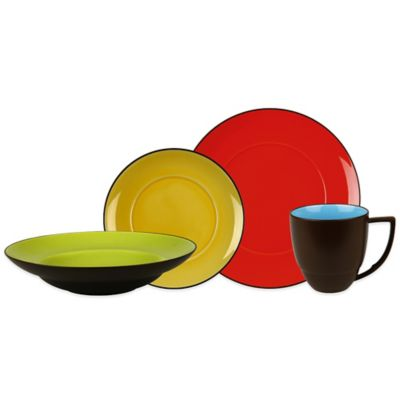 Waechtersbach Duo 16-Piece Dinnerware Set
