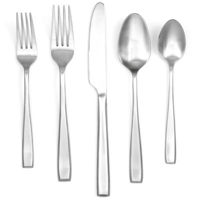 Cambridge® Silversmiths Logan Satin 40-Piece Flatware Set (Service for 8)