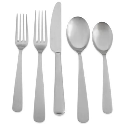 Cambridge® Silversmiths Callington Satin 40-Piece Flatware Set (Service for 8)