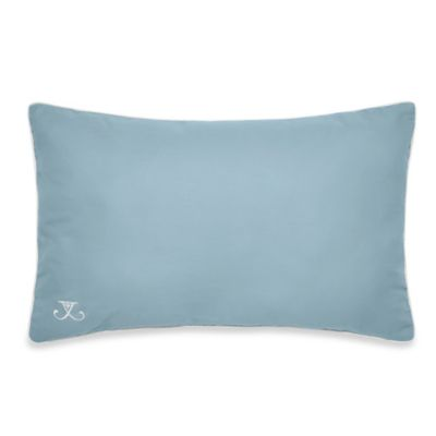 Jill Rosenwald Newport Gate Oblong Throw Pillow in Mint Green