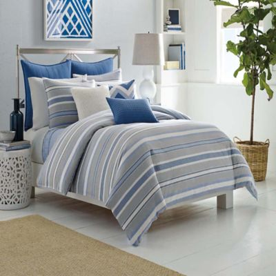 Nautica® Sedgemoor Full/Queen Comforter Set in Grey