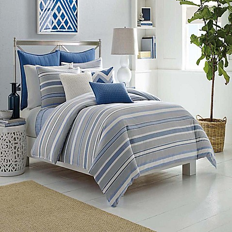 Nautica Sedgemoor Comforter Set In Grey Bed Bath Beyond