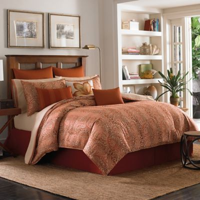 Tommy Bahama® Prince of Paisley Queen Comforter Set