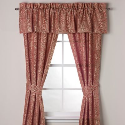 Tommy Bahama® Prince of Paisley Window Valance
