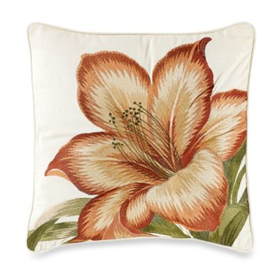 Tommy Bahama® Prince of Paisley Square Throw Pillow