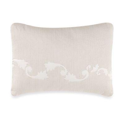 Wedgewood® Daisy Scroll Embroidered Breakfast Throw Pillow