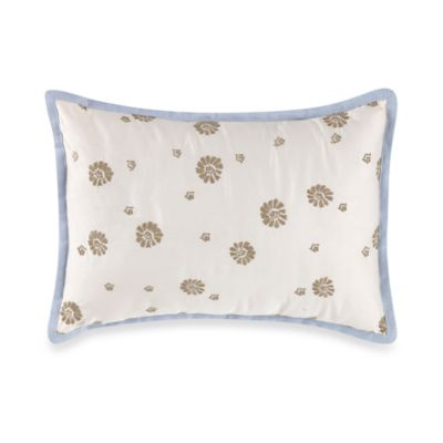 Daisy Embroidered Breakfast Throw Pillow