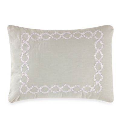Wedgwood® Laurel Leaves Embroidered Breakfast Throw Pillow