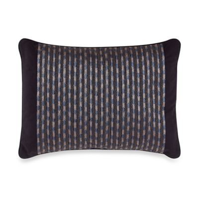 Tommy Bahama® Kaftan Floral Ikat Stripe Embroidered Throw Pillow