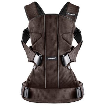 BABYBJORN® Baby Carrier One 15 in Brown/Black Mesh