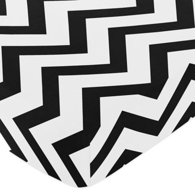 Chevron Fitted Crib Sheet