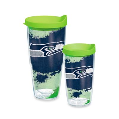 Tervis® NFL Seattle Seahawks 16 oz. Distressed Wrap Tumbler with Lid