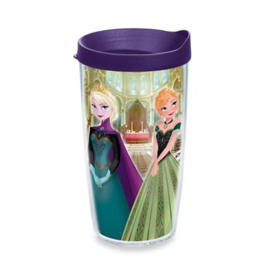 Tervis® Frozen Anna and Elsa at the Ball Wrap 16 oz. Tumbler with Lid
