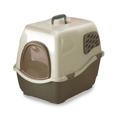 Marchioro Bill 1F Brown Large Deluxe Cat Litter Box