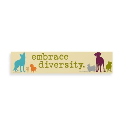 Embrace Diversity Decorative Sign
