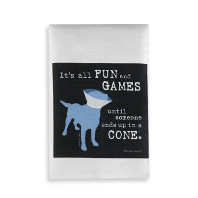 Fun and Games Bar Towel