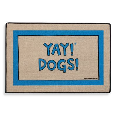 YAY! DOGS! Door Mat