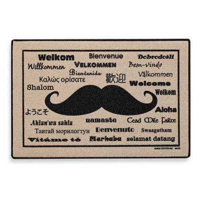 Moustache International Door Mat