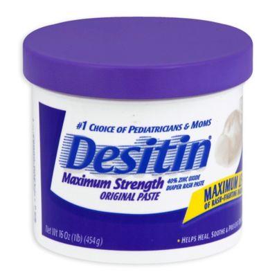 Diapering Essentials > Desitin® Diaper Rash Ointment - 16-Ounce Jar