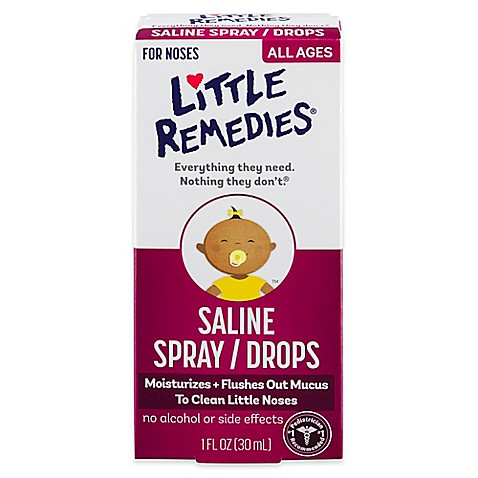 Little Remedies 174 Little Noses 174 Saline Spray Drops Www Buybuybaby Com