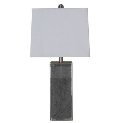 Lilian Square Mercury Table Lamp