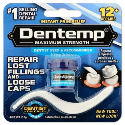 Dentemp One Step 2-gram Maximum Strength Filling Material For Pain Relief