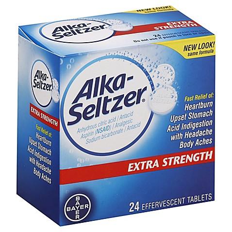 Does alka seltzer contain aspirin