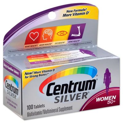 Centrum Silver 100-Count Women's Multivitamins