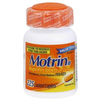 Motrin® IB Ibuprofen Tablets 225-Count Caplets