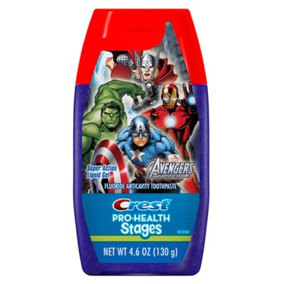 Crest Pro-Health 4.6 oz. Avengers Liquid Gel Toothpaste