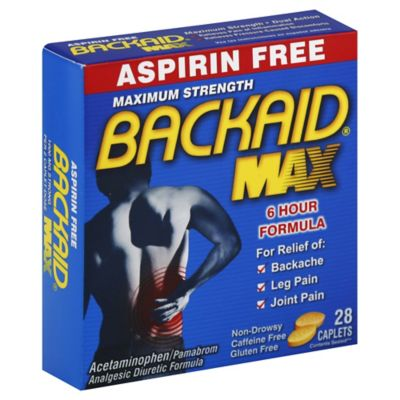 Backaid® Max 35-Count 1000 Mg Pain Relief Pills