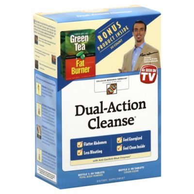 Dual Action Cleanse 150-Count Tablets