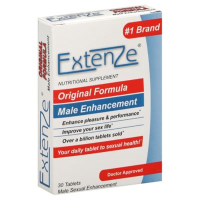 Extenze® Original Formula Male Enhancement 30-Count Nutritional Supplement Tablets