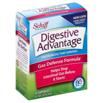 Schiff® Digestive Advantage® 32-Count Gas Defense Capsules