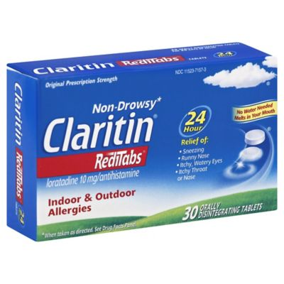 Claritin 30-Count 24 Hour Redi Tablets