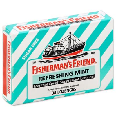 Fisherman's Friend® 38-Count Sugar Free Menthol Cough Suppressant Lozenge in Refreshing Mint