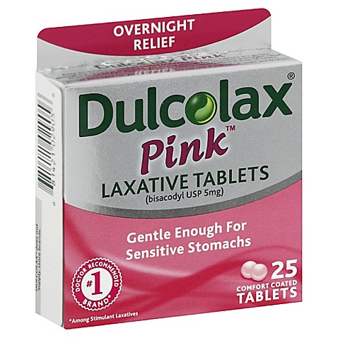 Buy Dulcolax 174 Pink 25 Count Laxative Tablets For Women