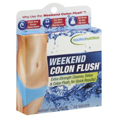 Applied Nutrition® Weekend Colon Flush™ 16-Count Dietary Supplement Tablets