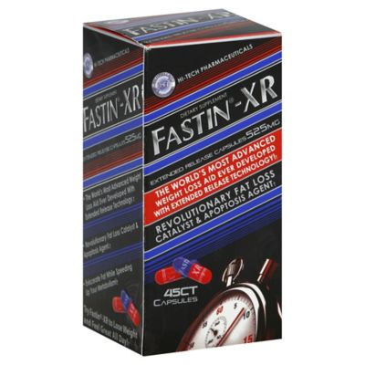 Fastin-XR 45-Count 525 mg Extended Release Dietary Supplement Capsules