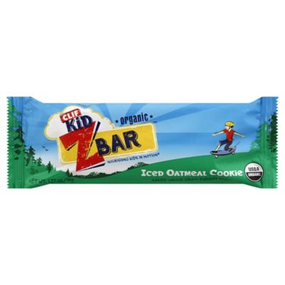 Clif Kid ZBar 1.27 oz. Organic Energy Snack in Iced Oatmeal Cookie